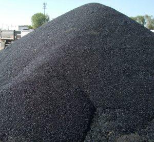 Pothole patch pile