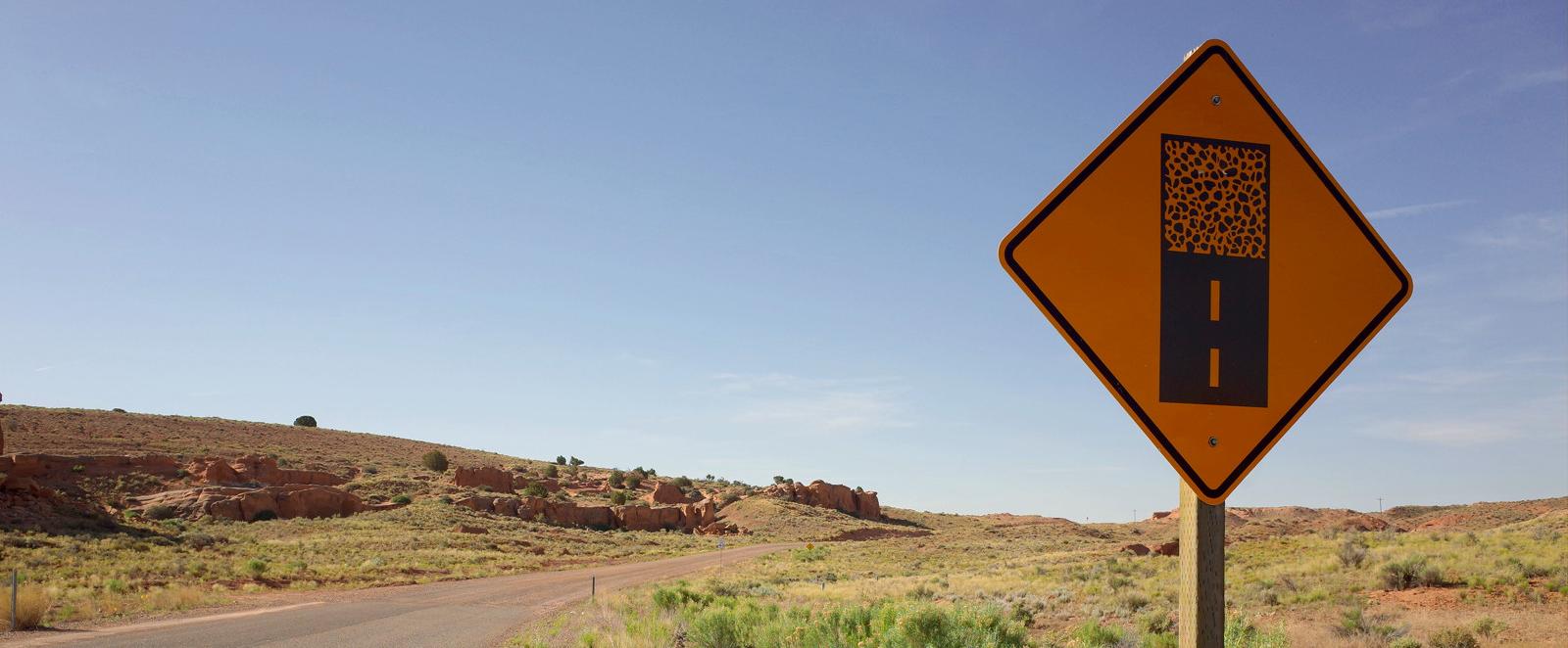 Dirt-Road-Sign-Capitol-Reef-National-Park-Utah Utah Dust Control