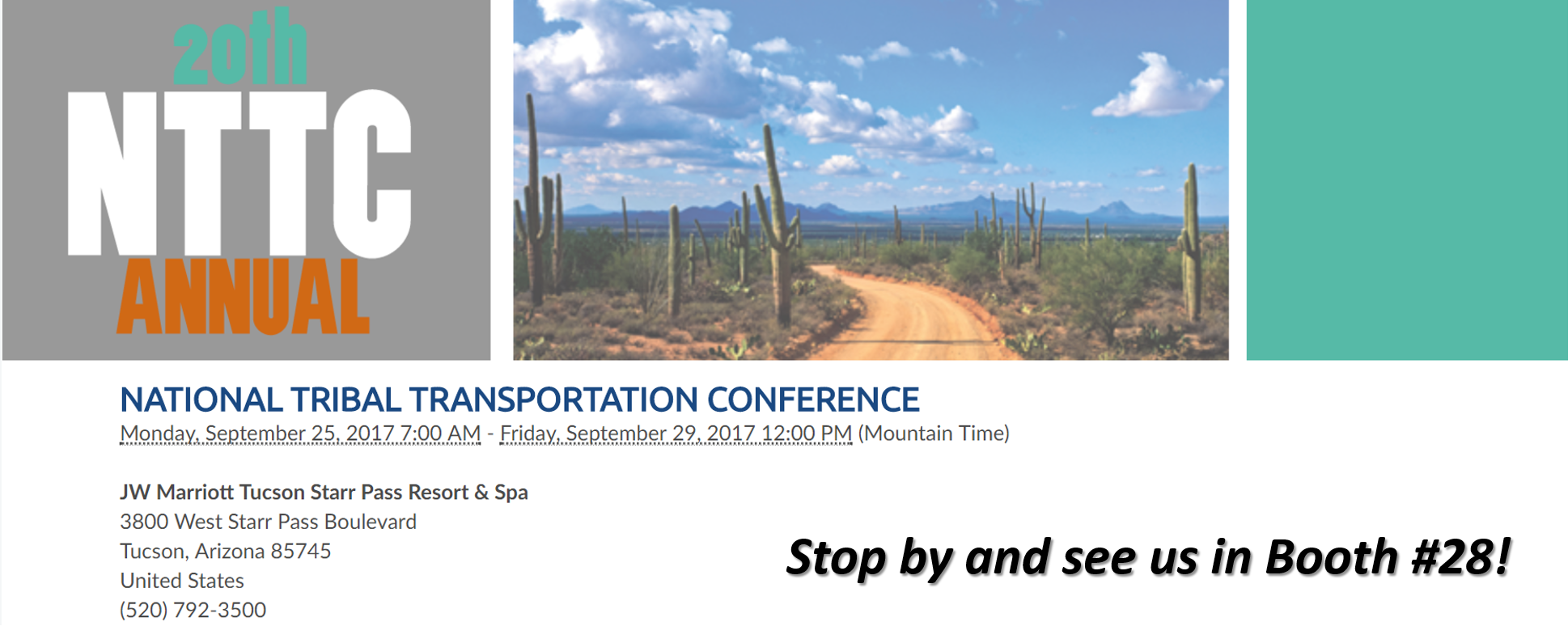 20th-Annual-TTAP-Conference-Tucson 20th Annual National Tribal Transportation Conference